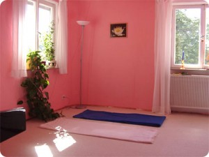 Yogaraum  Yogastunden