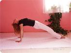 Schiefe Ebene - Yogaübungen